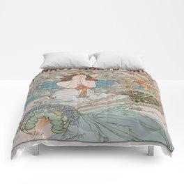 Vintage poster - Monte Carlo Comforters