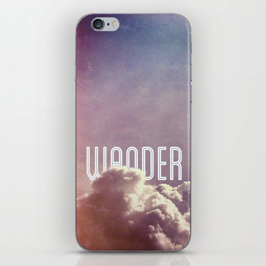 Wander (vertical) iPhone & iPod Skin