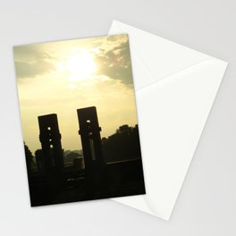 Sunset Memorial Stationery Cards