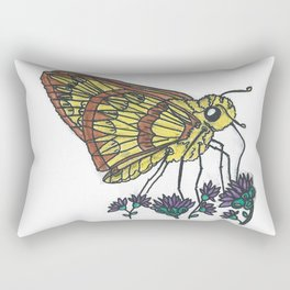 Fiery Skipper Rectangular Pillow