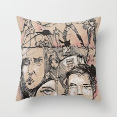 Hater Or Lover Throw Pillow