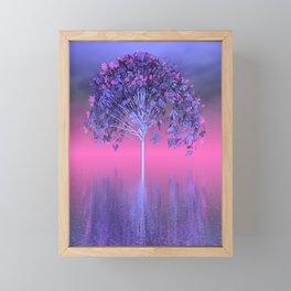 strange light somewhere -30- Framed Mini Art Print