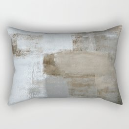 Calm and Neutral Rectangular Pillow