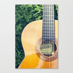 Artista Guitar Canvas Print