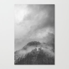 Moody clouds 5 Canvas Print