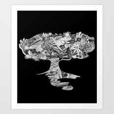 cr3@te Art Print
