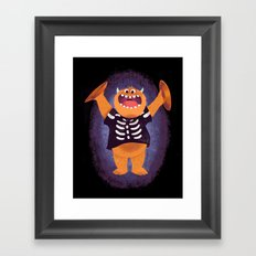 Smashing Halloween Framed Art Print