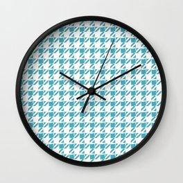 saw paisley Wall Clock