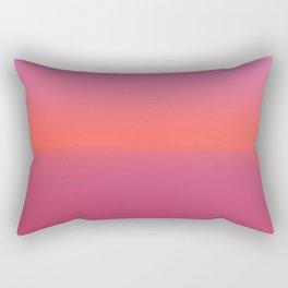 Pink TwoTone Rectangular Pillow