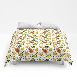 Melon craze Comforters
