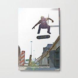 Nollie Flip Metal Print