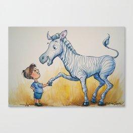 """Striped Similitude"" Canvas Print"