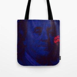 Benjamin Dark (blue) Tote Bag