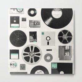 Data Metal Print