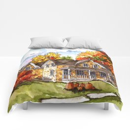 October on the Farm Comforters