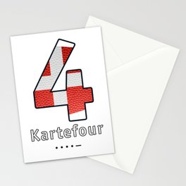 Kartefour - Navy Code Stationery Cards