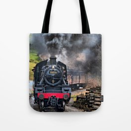 78019 Steam Train Tote Bag