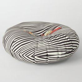 Illusionary Boat Ride 2 Floor Pillow