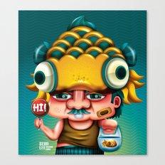 Uncle Gold Fish! Canvas Print