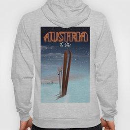 Austria To Ski Hoody