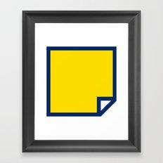 Lichtenswatch - Blonde Framed Art Print