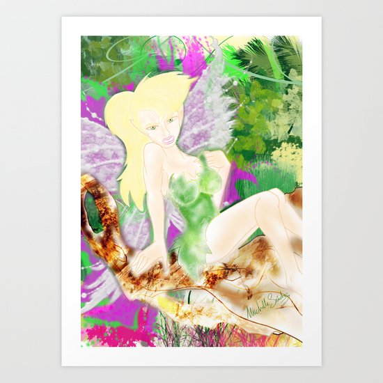 DO YOU BELIEVE IN FAYRIES? Art Print