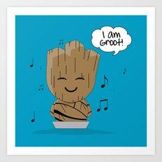 ChibizPop: I am! Art Print