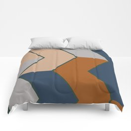 Modern Fall Winter Color Pattern Comforters