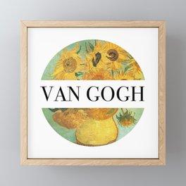 Van Gogh Framed Mini Art Print