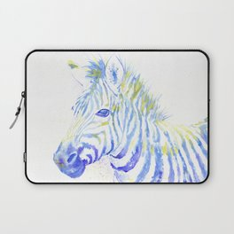 Quiet Zebra Laptop Sleeve