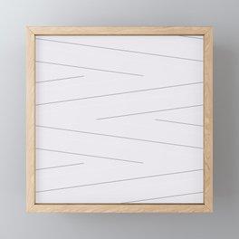 Magnolia Lines Framed Mini Art Print