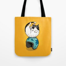 the wegg cat Tote Bag