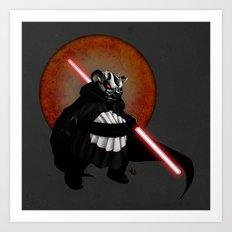 The Panda Menace Art Print