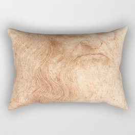 Classic Art - Leonardo da Vinci by Leonardo da Vinci Rectangular Pillow