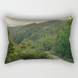 Towards the cove Rectangular Pillow