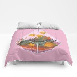 Pink Terrarium Comforters