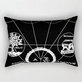 The Origins of Alchemy (white) Rectangular Pillow