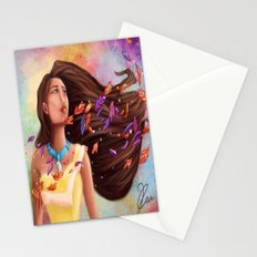 Colors of the Wind Stationery Cards
