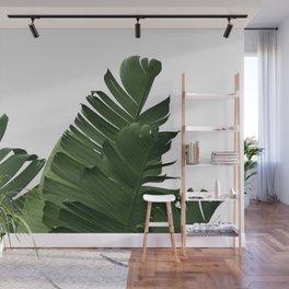 Minimal Banana Leaves Wall Mural