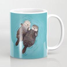 Otterly Romantic - Otters Holding Hands Mug