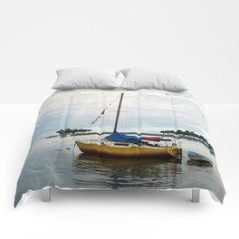 Sailboat Rainbow Comforters