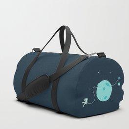 Around the moon Duffle Bag