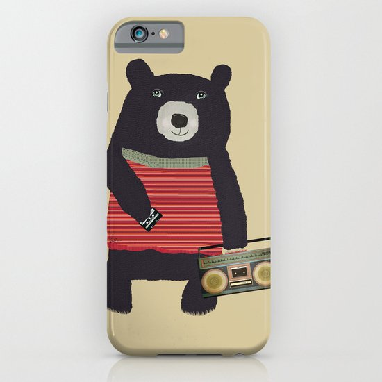 Boomer bear iPhone & iPod Case