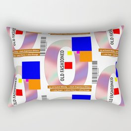 """Cocktail """"O"""" - Old Fashioned Rectangular Pillow"""