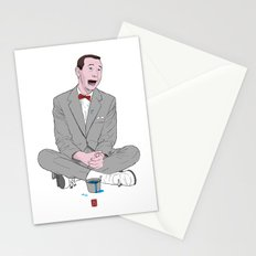 PEE-WEE HERMAN SMURF ICE CREAM Stationery Cards