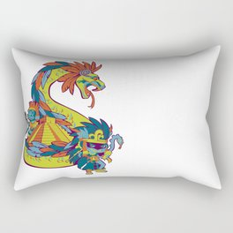 Mexican Gods Rectangular Pillow