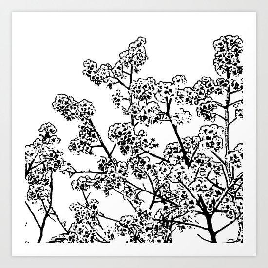 Cherry Blossom #1 Art Print