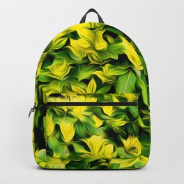 Painted Foliage Backpack