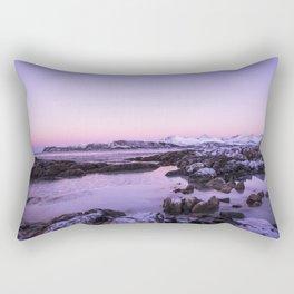 Tromso Sunset Rectangular Pillow