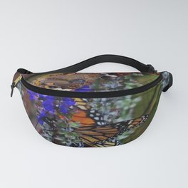 Multiple Butterflies 2 Fanny Pack